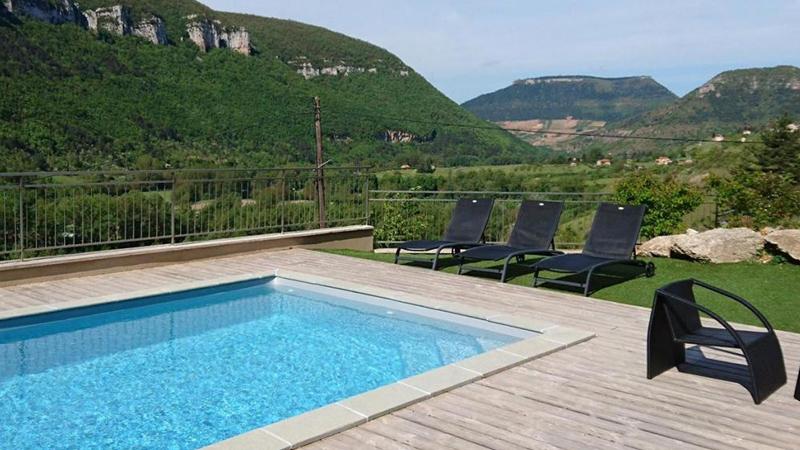 Hôtel de la Muse et du Rozier - piscine