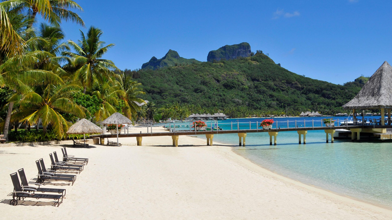 InterContinental Bora Bora Le Moana Resort - plage 1