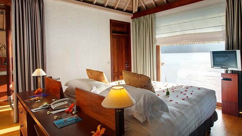 InterContinental Bora Bora Resort & Thalasso Spa - chambre 1
