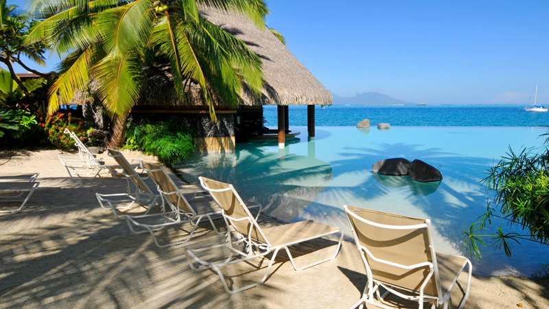 InterContinental Resort Tahiti - piscine